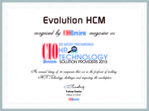 Evolution HCM ranked a Top 20 Most Promising HR Technology