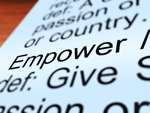 To better engage staff members, what should human resource managers include in their empowerment initiatives?